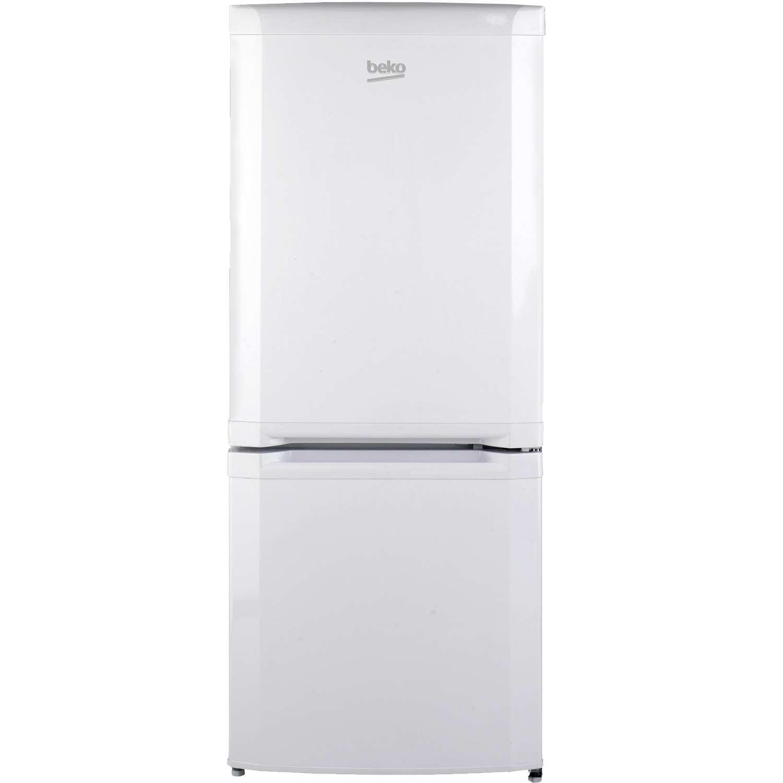 beko fridge freezer 134cm tall in white pooles domestics. Black Bedroom Furniture Sets. Home Design Ideas