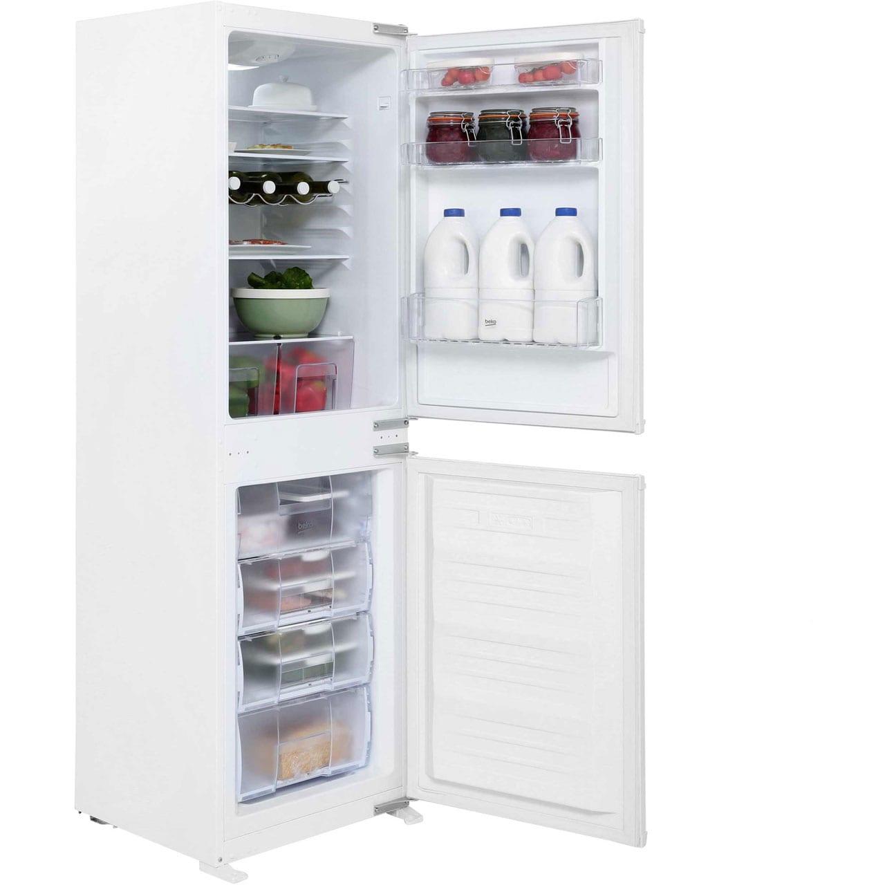 Beko 50 50 Frost Free Built In Fridge Freezer Pooles